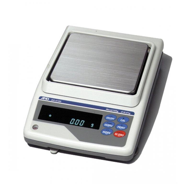 A&D GX Series Internal Calibration